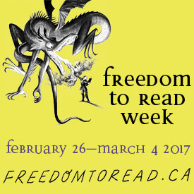 Freedom To Read Week 2017